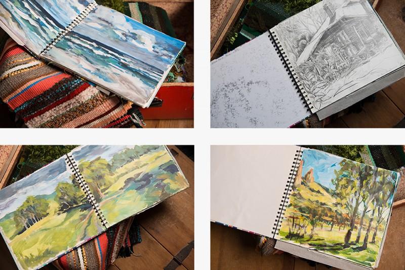 Kathryne Moore sketchbooks2
